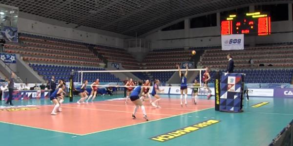 Волейболистки краснодарского «Динамо» уступили «Уралочке»