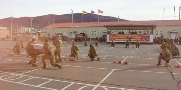 Российская военная база в Южной Осетии отмечает 12 годовщину со дня образования