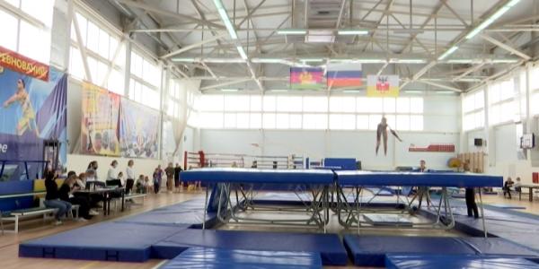 Сборная Краснодарского края по прыжкам на батуте готовится к Кубку России