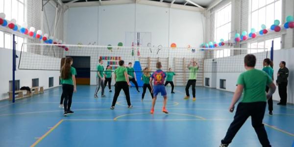 В станице Малотенгинской Отрадненского района построили новый спортзал