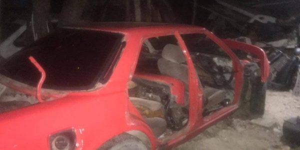 В Анапе парень украл припаркованную иномарку и сдал ее на металлолом