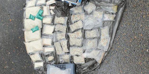 На Кубани задержали наркосбытчика, перевозившего в машине 3 кг мефедрона