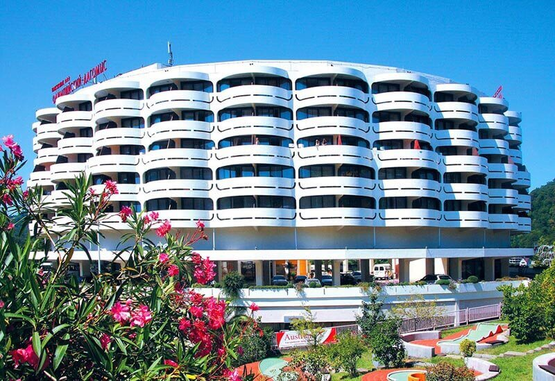 В Сочи советский пансионат превратили в четырехзвездочный апарт-отель