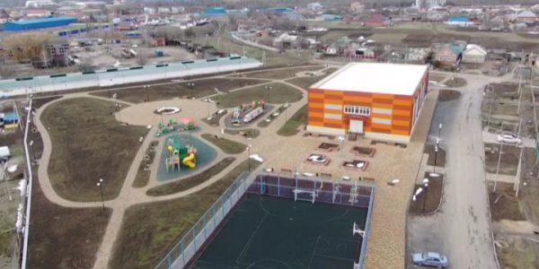 В Белоглинском районе открыли новый спортивный комплекс