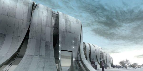 В Новороссийске представили новый архитектурный проект «Бора»