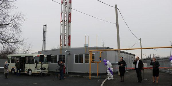 В Новокубанске открыли новую котельную мощностью 5 мегаватт