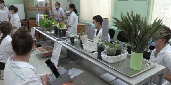 Современная лаборатория открылась в Славянском сельскохозяйственном техникуме