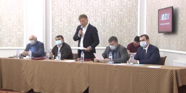 Александра Джеуса переизбрали президентом краевой федерации мотоспорта