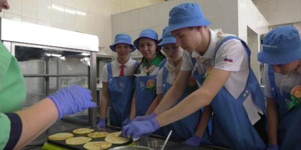 В детском центре «Орленок» стартовала программа «Основы здорового питания»