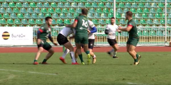 РК «Кубань» и «Богатыри» выступили на чемпионате России по регби-7