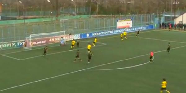 ФК «Кубань Холдинг» обыграл «Анжи» в матче 21 тура ПФЛ со счетом 0:1
