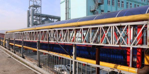 В Восточном районе Новороссийска открыли пешеходный мост над железной дорогой
