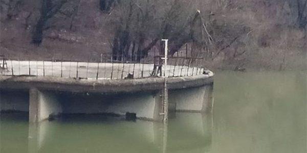 Уровень воды в Неберджаевском водохранилище поднялся на 1,5 метра