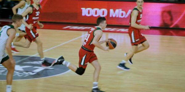 Юные баскетболисты ПБК «Локомотив-Кубань» приняли участие в молодежной Евролиге