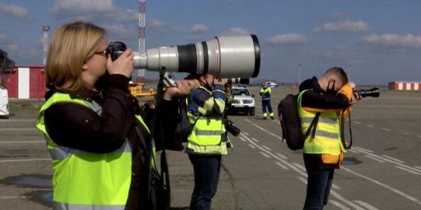 В аэропорту Краснодара стартовал первый в 2021 году споттинг