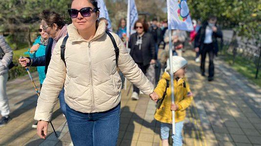 Сочинцы прошли 10 тысяч шагов в рамках всероссийской акции