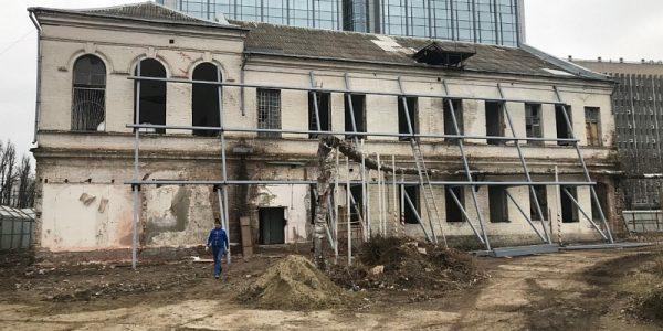 В Краснодаре начали ремонт женского городского училища, построенного в 19 веке