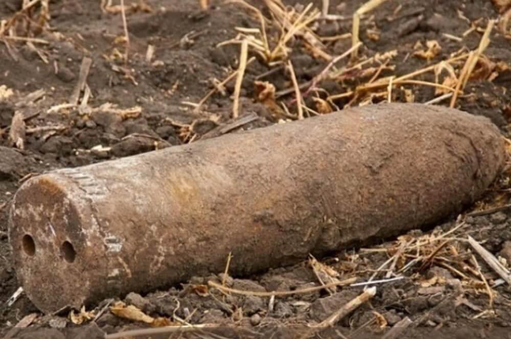 На Кубани ФСБ нашла снаряд времен войны около Крымского моста