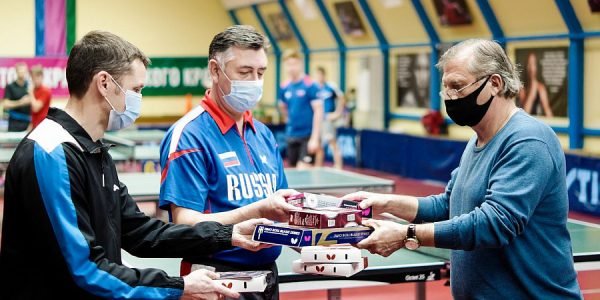 Центр олимпийской подготовки по настольному теннису Кубани получил инвентарь