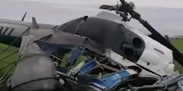 Разбившийся на Кубани вертолет однажды уже падал
