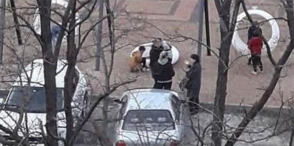 В Новороссийске вандалы сломали качели с подсветкой, установленные неделю назад