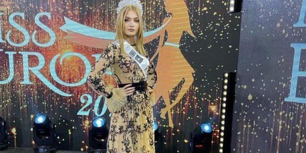 Представительница Новороссийска вошла в ТОП-10 конкурса «Мисс Европа 2021»