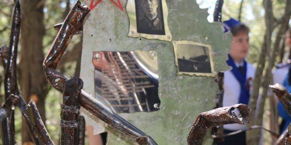 В горах Новороссийска открыли памятный знак летчику, погибшему в боях за город