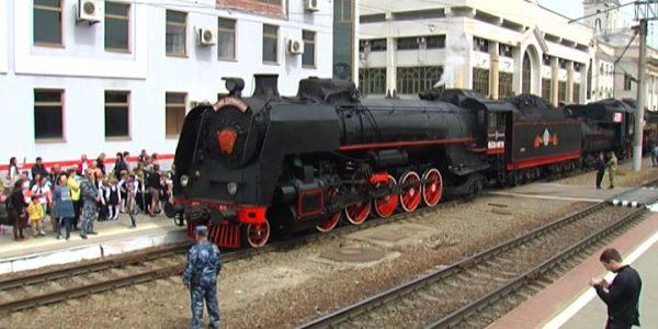 Ретро-поезд «Победа» сделает остановку в Краснодаре 2 мая