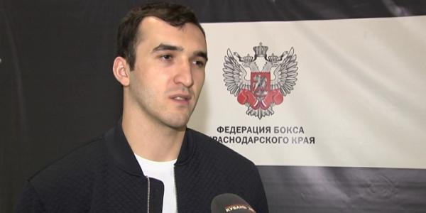 Кубанский боксер примет участие в Кубке губернатора Санкт-Петербурга