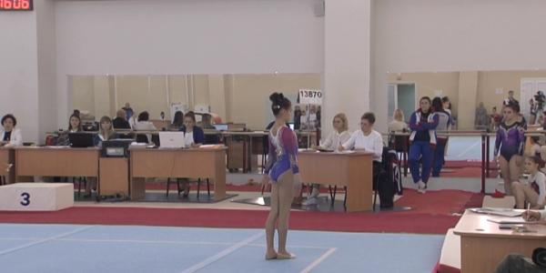 Кубанская гимнастка Елизавета Ус завоевала две медали первенства России