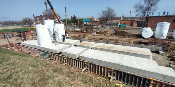 В Белореченске реконструкцию очистных сооружений по нацпроекту завершат в июне