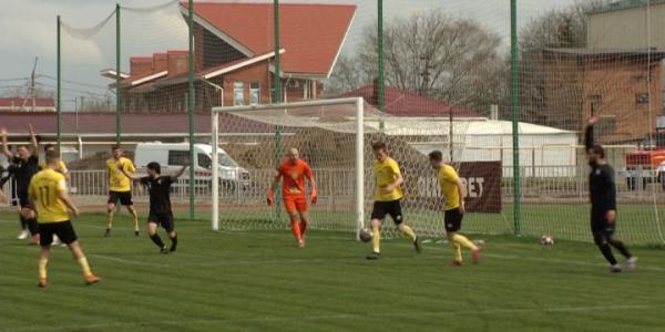 ПФК «Кубань» и «Кубань Холдинг» сыграли вничью в матче 24 тура ПФЛ