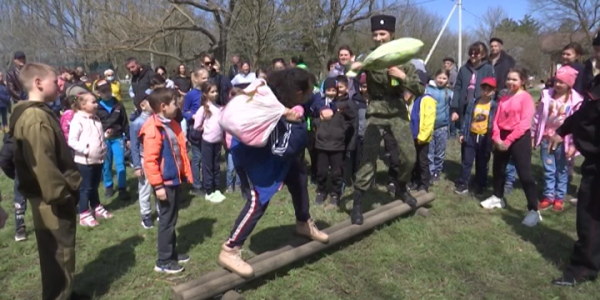 В Ейском районе прошел фестиваль военно-казачьего искусства «Сполох»