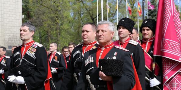 В Краснодаре 24 апреля пройдет парад Кубанского казачьего войска