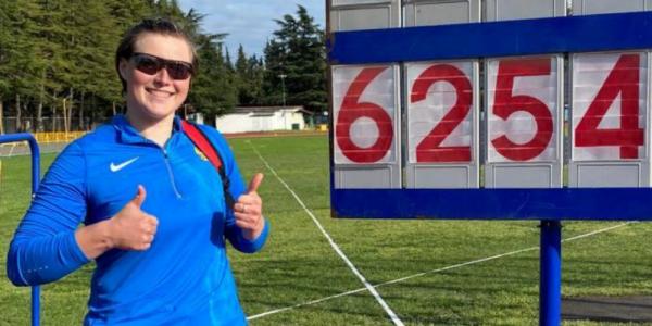 Кубанская юниорка установила рекорд России в метании диска