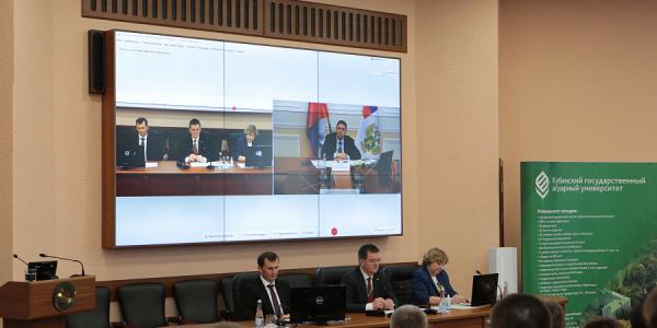 В Минсельхозе РФ отметили работу учебно-опытных хозяйств КубГАУ