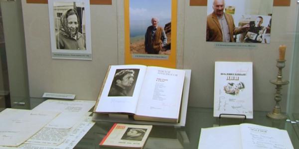 В Краснодаре открылась литературная выставка Виктора Лихоносова
