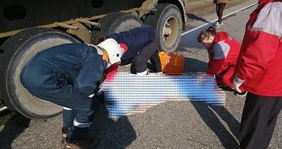 В Краснодарском крае грузовик насмерть сбил женщину