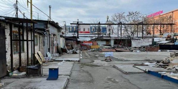 В Краснодаре на месте скобяного рынка предложили сделать торговый комплекс