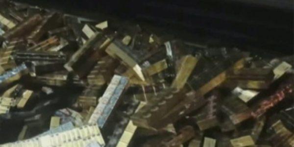 На таможне в Сочи задержали большую партию контрабандных сигарет из Абхазии