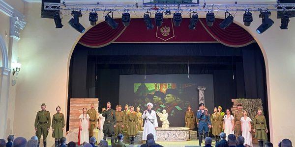 Кондратьев: Театр защитника Отечества станет центром патриотического воспитания