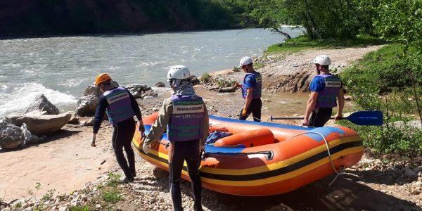 В Адыгее шестые сутки ищут двоих туристов, унесенных течением реки Белой