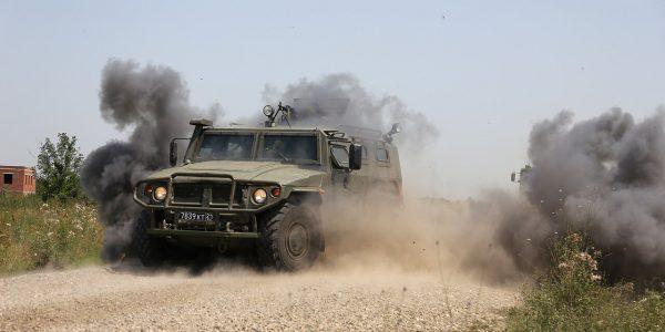 На Кубани и в нескольких регионах России прошли учения спецназа ЮВО