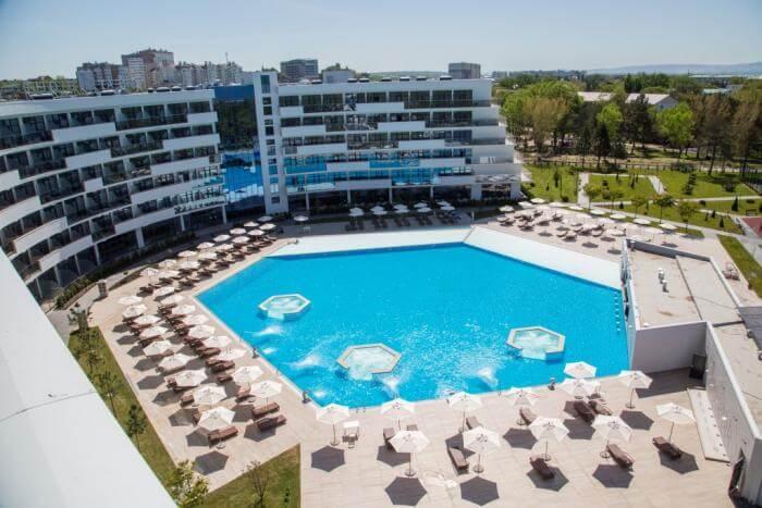 В Анапе открыли новый пятизвездочный отель Great Eight