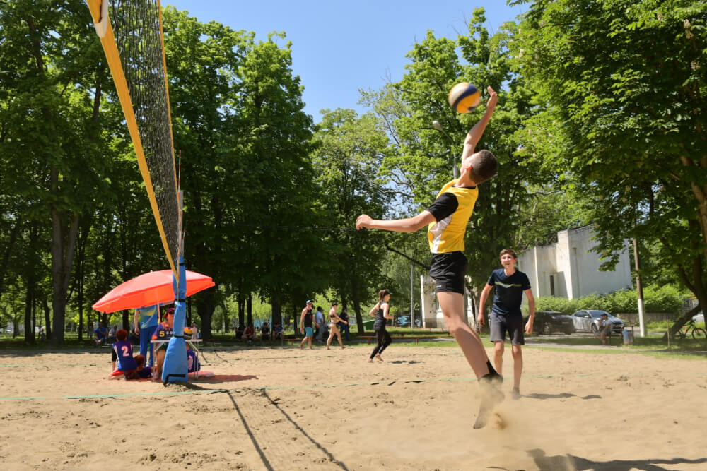 В Краснодаре открыли турнир по волейболу памяти Чернобыльской аварии