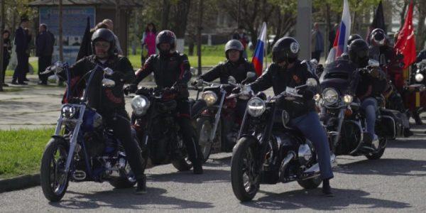 Жители Кубани присоединились к мотомаршу «Дороги Победы — Дорога Домой»