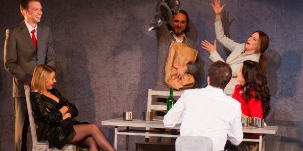Премьера «Утиной охоты» в краснодарском Театре драмы. Фоторепортаж