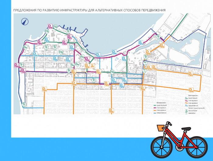 В Анапе сеть велодорожек соединит центр города со спальными районами