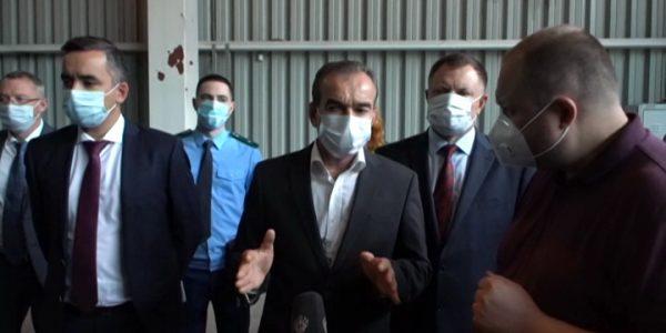 Кондратьев: на Кубани не должно быть временных площадок для складирования мусора