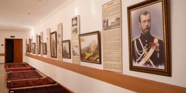 В Армавире представили выставку «Российские императоры в Дербенте»
